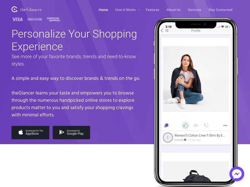 Passive Browsing Shopping Apps