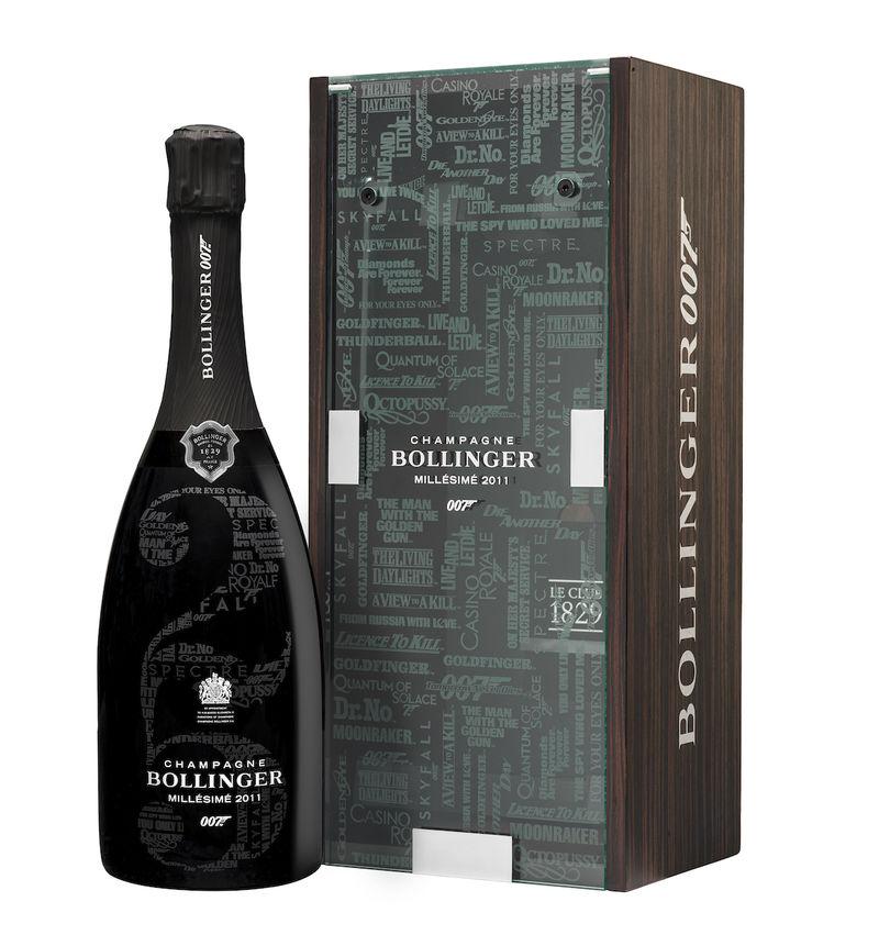 Secret Agent-Themed Champagnes