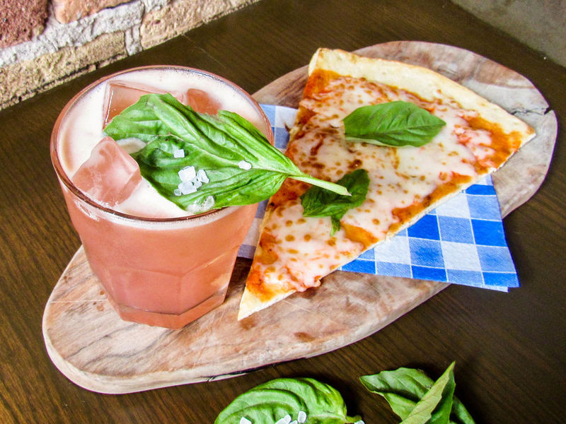 Pizza-Themed Cocktails