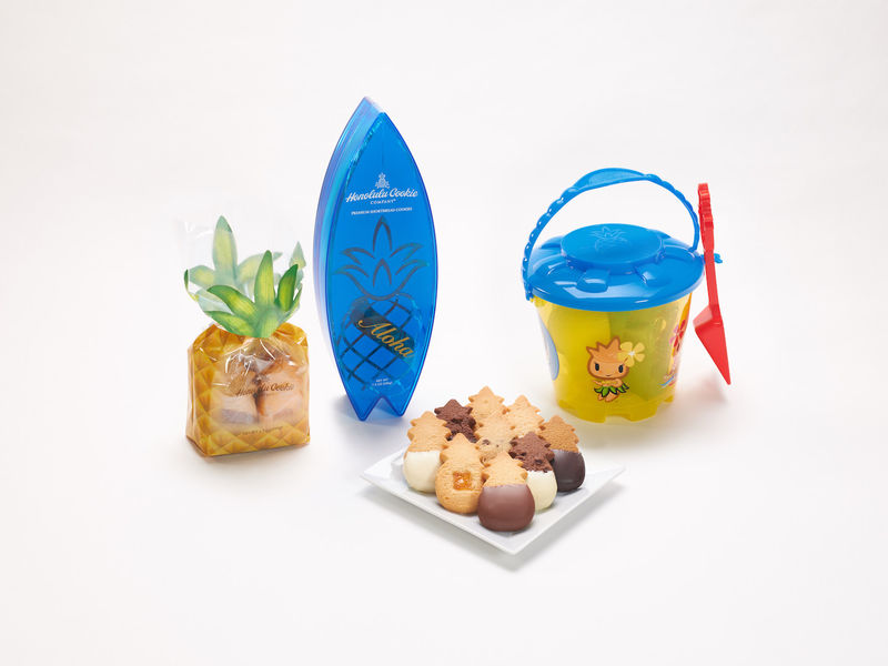 Beach-Themed Cookie Packaging