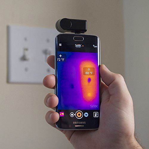 Heat-Detecting Smartphone Cameras