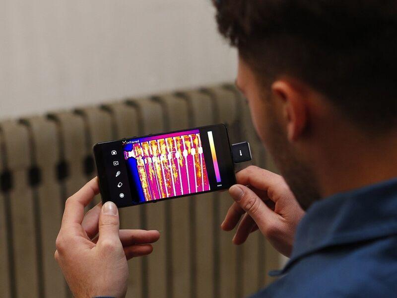 Thermal Imaging Smartphone Cameras
