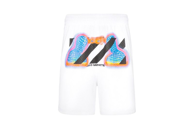 Thermal Mesh Graphic Shorts