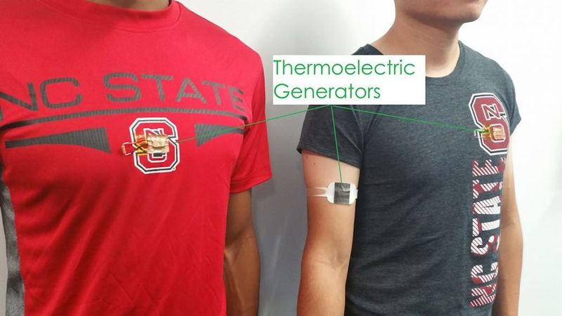 Power-Harnessing Wearables