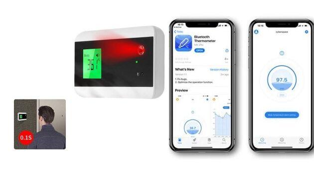 Temperature-Taking Doorbells