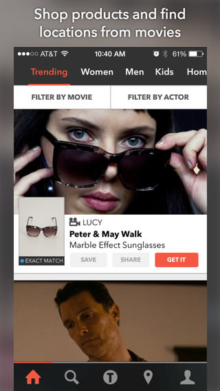 Cinematic Shopping Apps