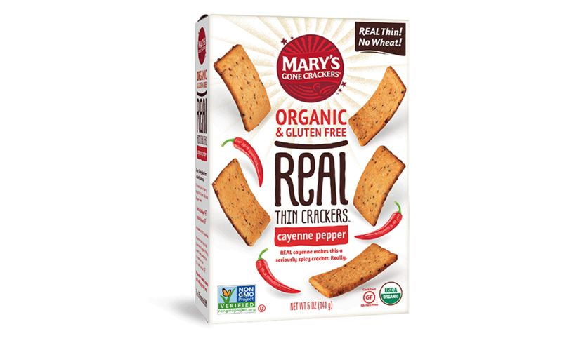 Crunchy Wheat-Free Crackers