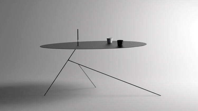Razor Blade-Thin Tables