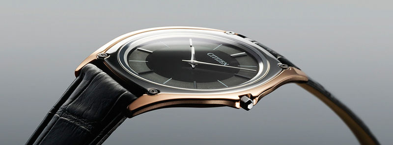 Light-Powered Thin Watches