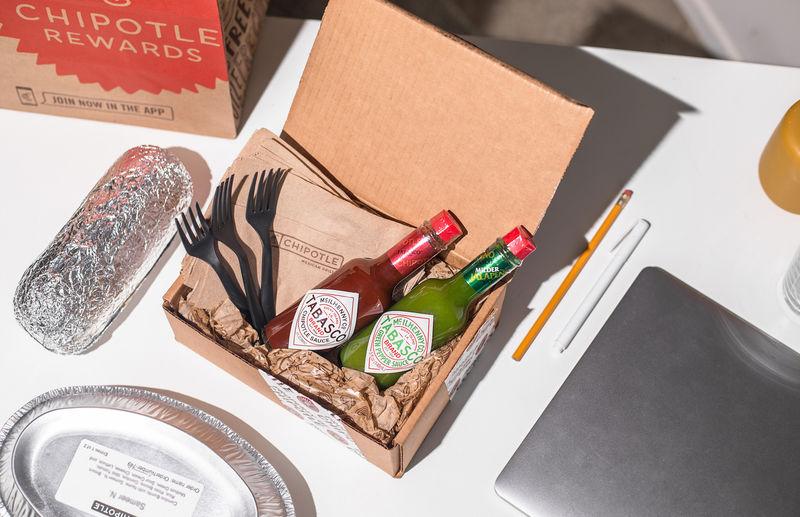Burrito Chain Condiment Kits