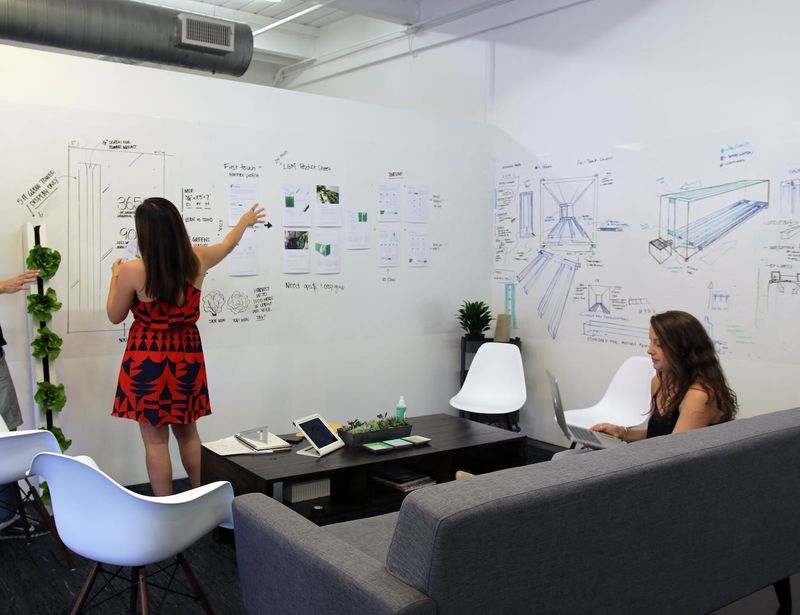 Oversized Brainstorming Writing Surfaces