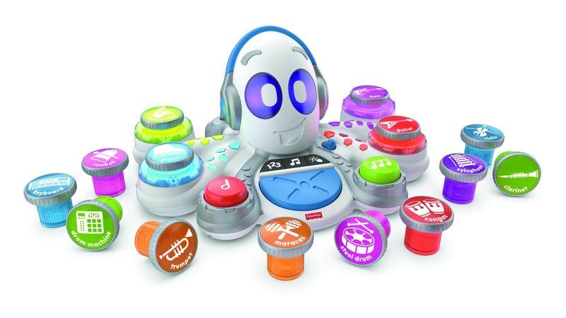 Musical Pod Toys : Think Learn Rocktopus