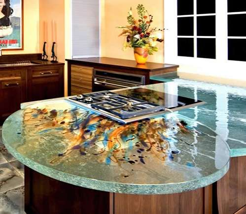 Bon Artistic Glass Kitchens