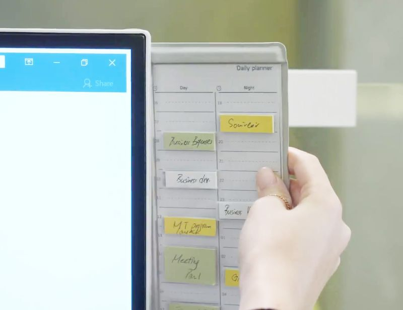 Tactile Organization Planners