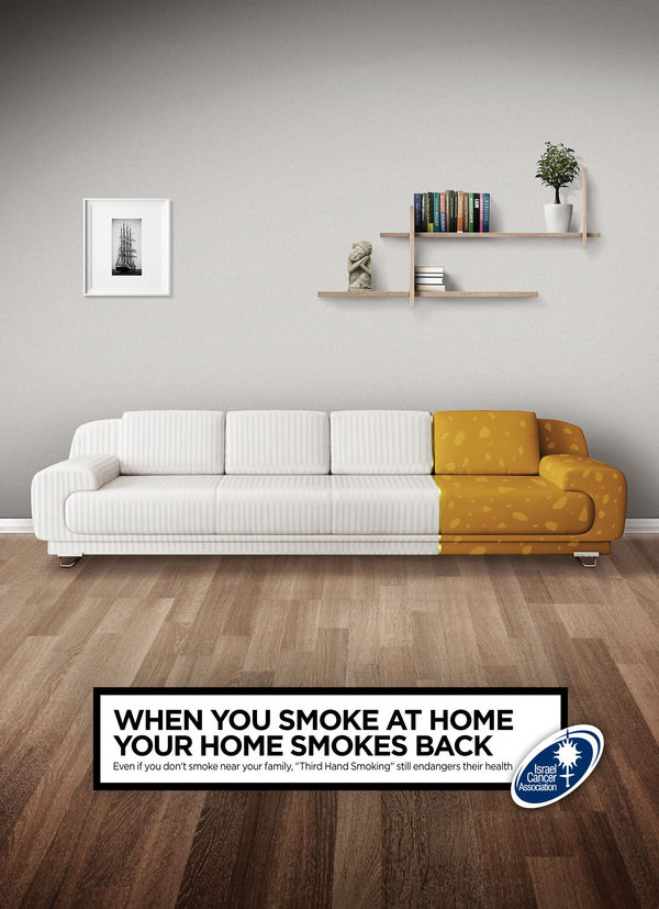 Smoking Furniture Ads