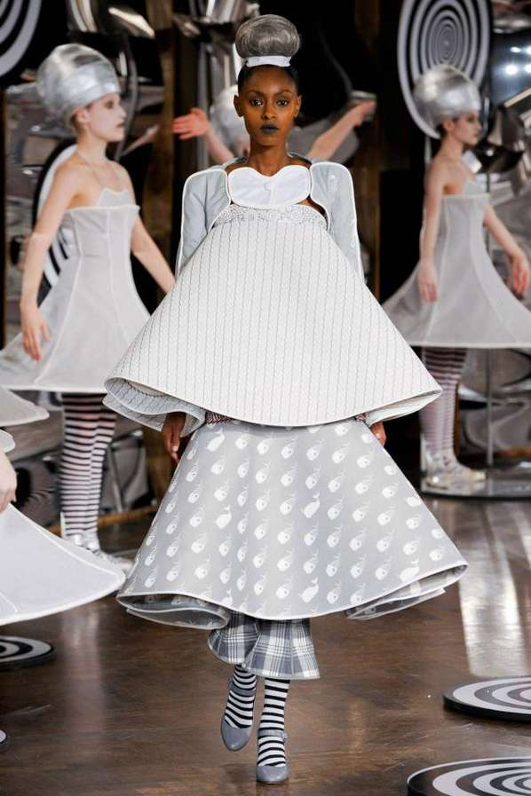 Bauhaus Homage Runways   Thom Browne Spring 2013 Collection