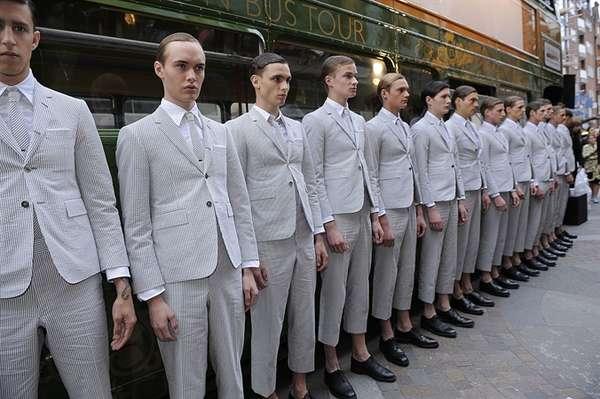 Chic Militaristic Menswear