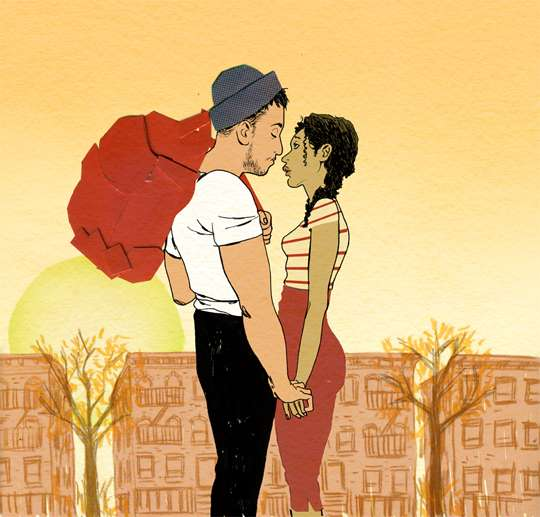 Romancing Hipster Illustrations