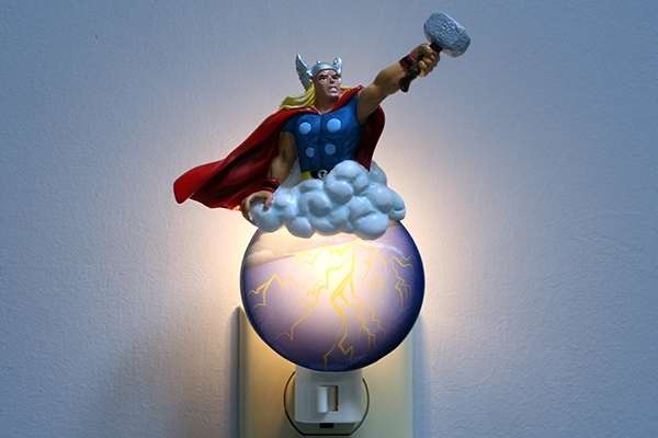 Superhero Socket Lamps
