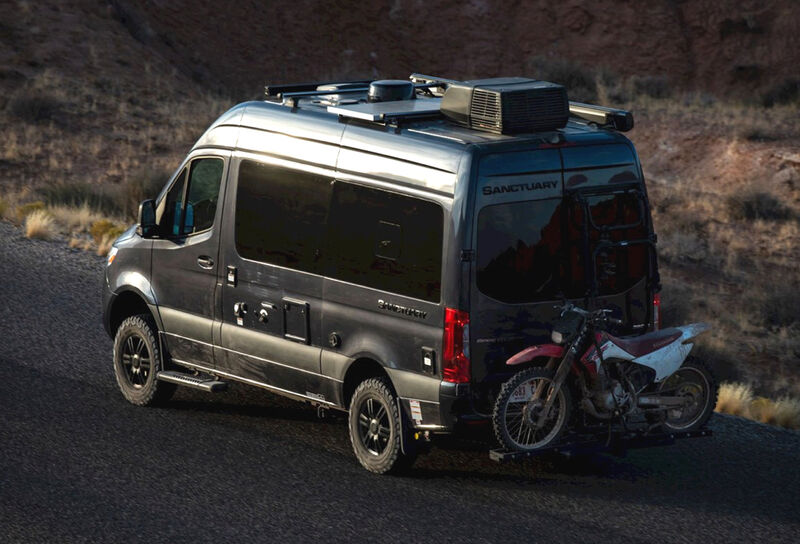 Off-Road Exploration Camper Vans