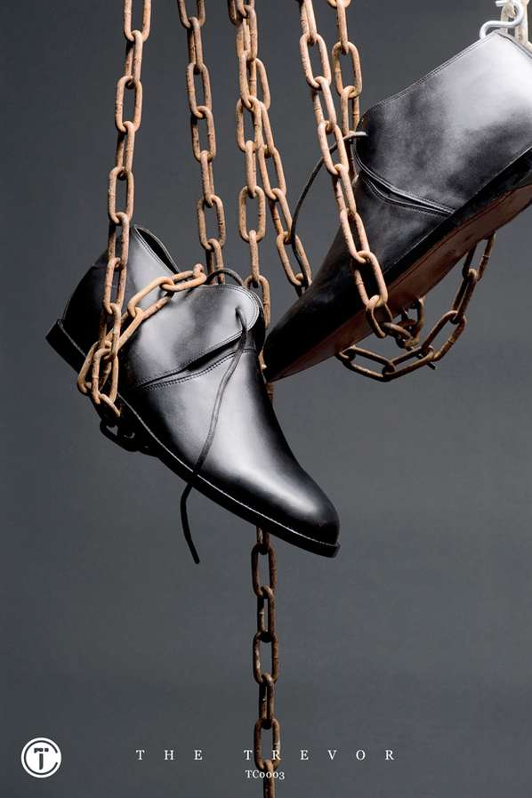 Chained-Up Shoe Ads