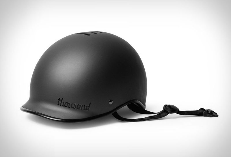 Lightweight Motorcycle Helmet >> Lightweight Minimalist Bike Helmets Thousand Stealth Bike Helmet