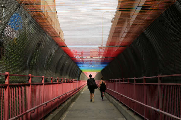 Multi-Colored Stringed Bridges