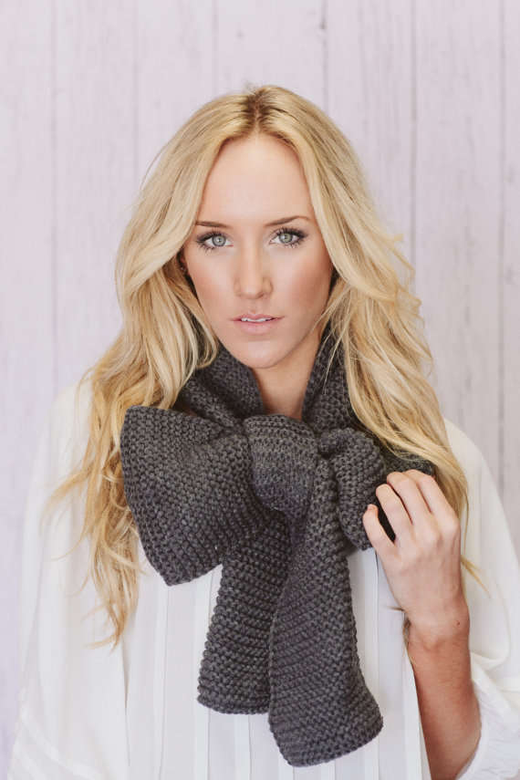 Oversized Bow Scarves