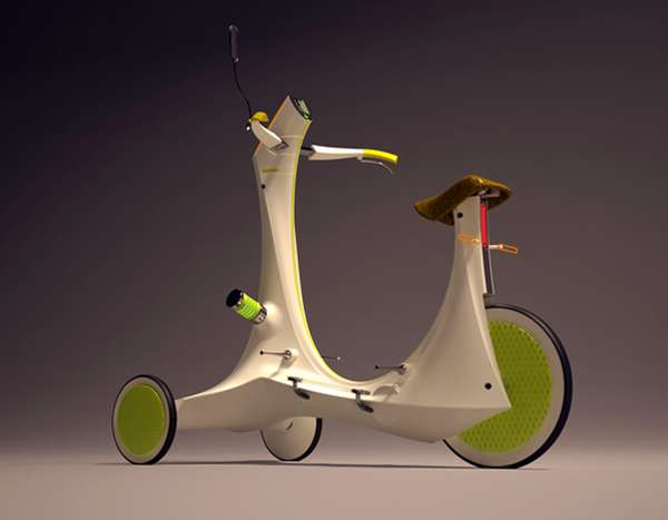 Slug-Like Scooters