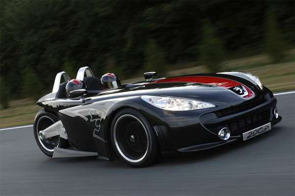 Can Am Roadster >> Three-Wheeled Roadsters: Peugeot 20 Cup