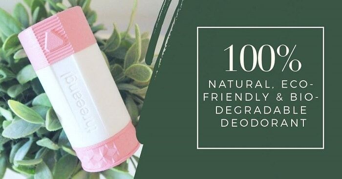 Natural Biodegradable Packaging Deodorants
