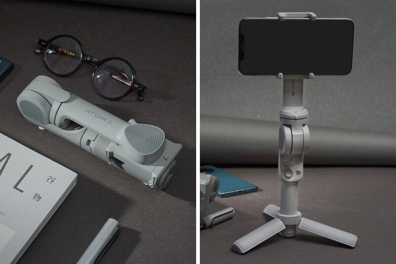 Auto-Folding Smartphone Gimbals