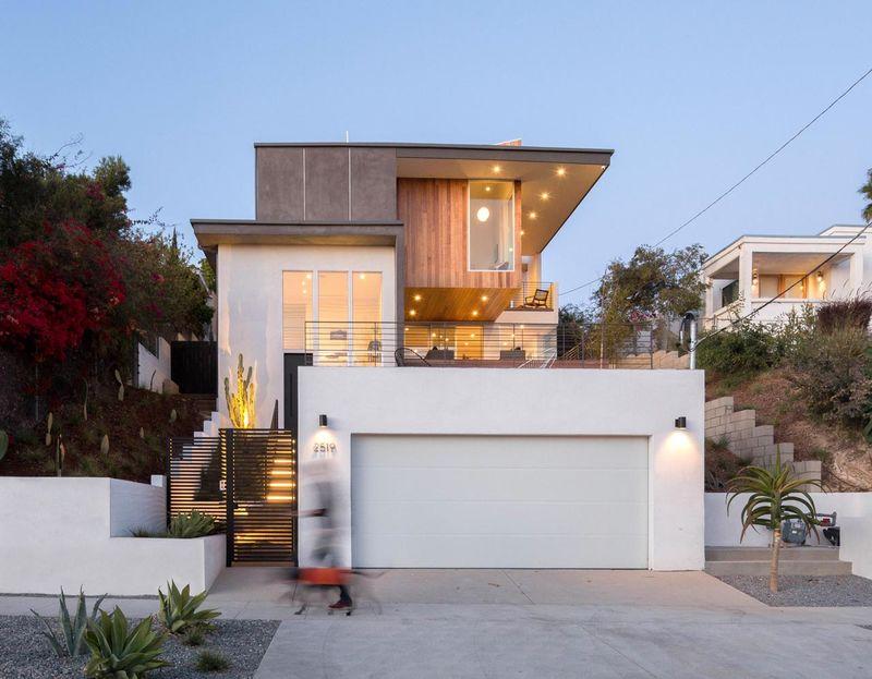 Contemporary Three-Step Houses