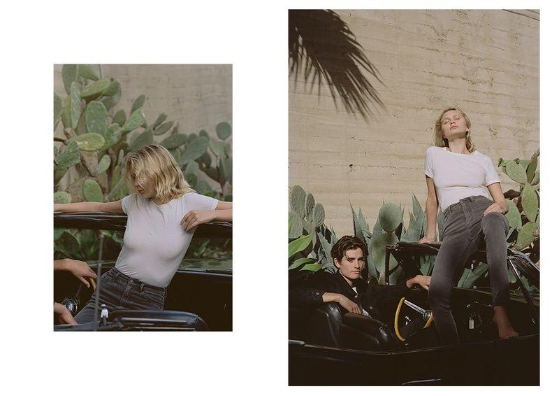 Summery LA-Shot Denim Lookbooks
