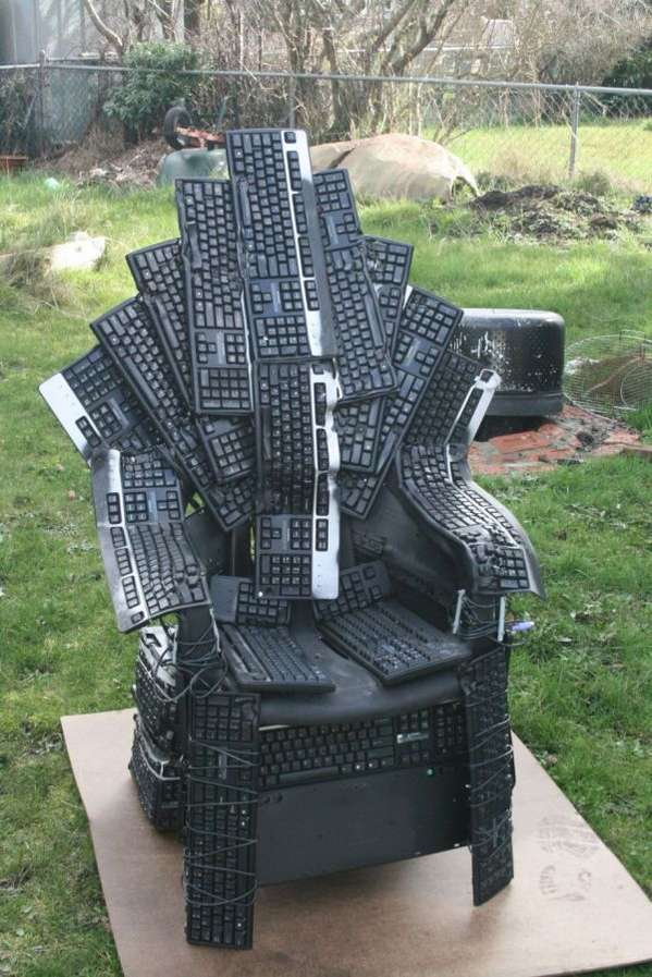 Keyboard-Made Chairs