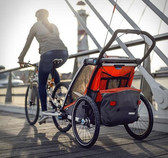 Adaptive Cyclist Stroller Trailers