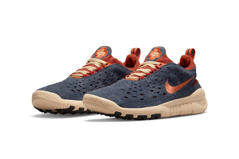 Rustic Autumnal Running Shoes