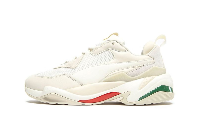 Italian Flag-Themed Tonal Sneakers