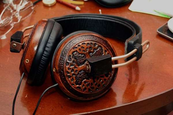 Luxurious Lumber Headsets