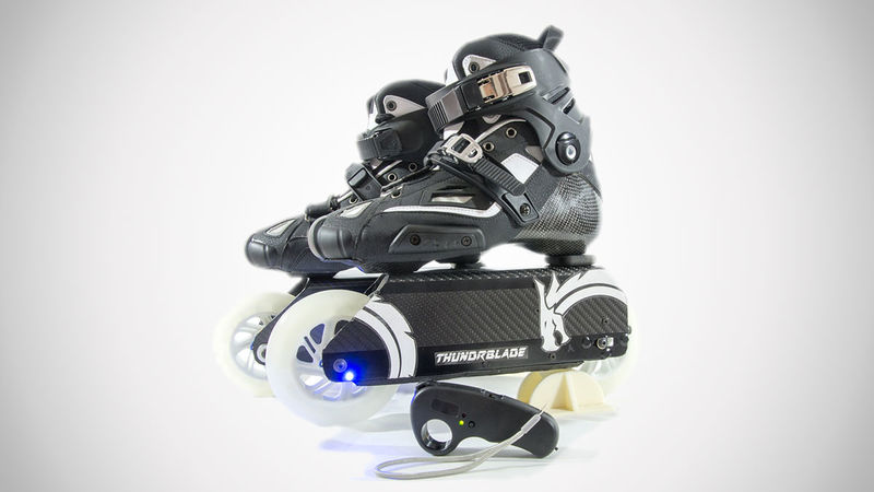 Powered Rollerblade Skate Systems