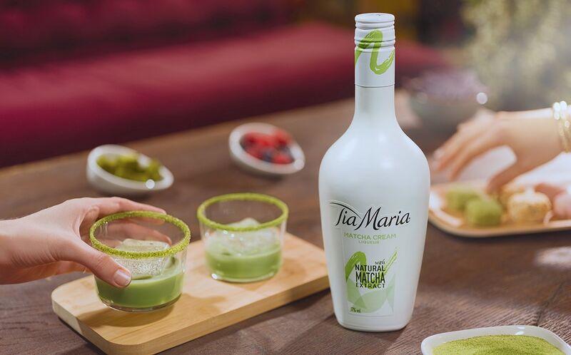 Matcha-Flavored Liqueurs
