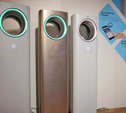 Smartphone-Connected Air Conditioners
