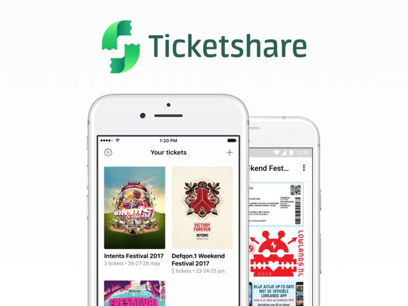 Event Ticket-Sharing Apps