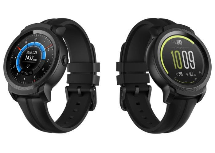 Robust Multi-Lifestyle Smartwatches : TicWatch E2 and S2