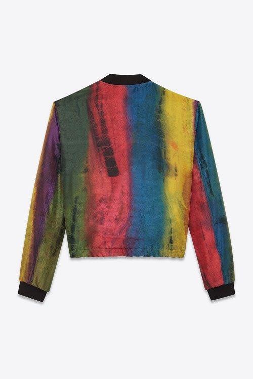 Multi-Colored Silk Jackets
