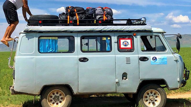 Camper Van Gear Straps