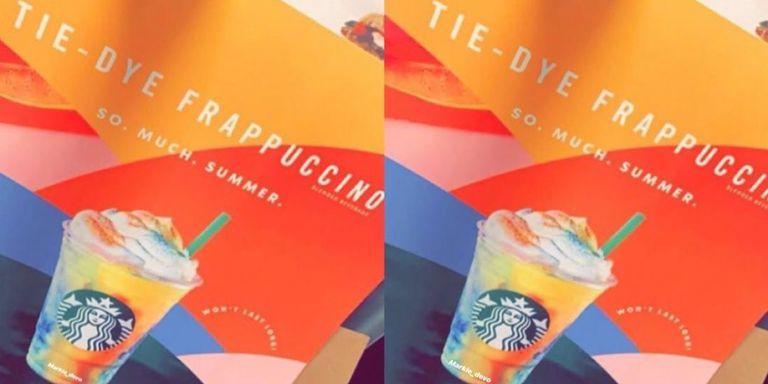 Tie-Dye Blended Drinks