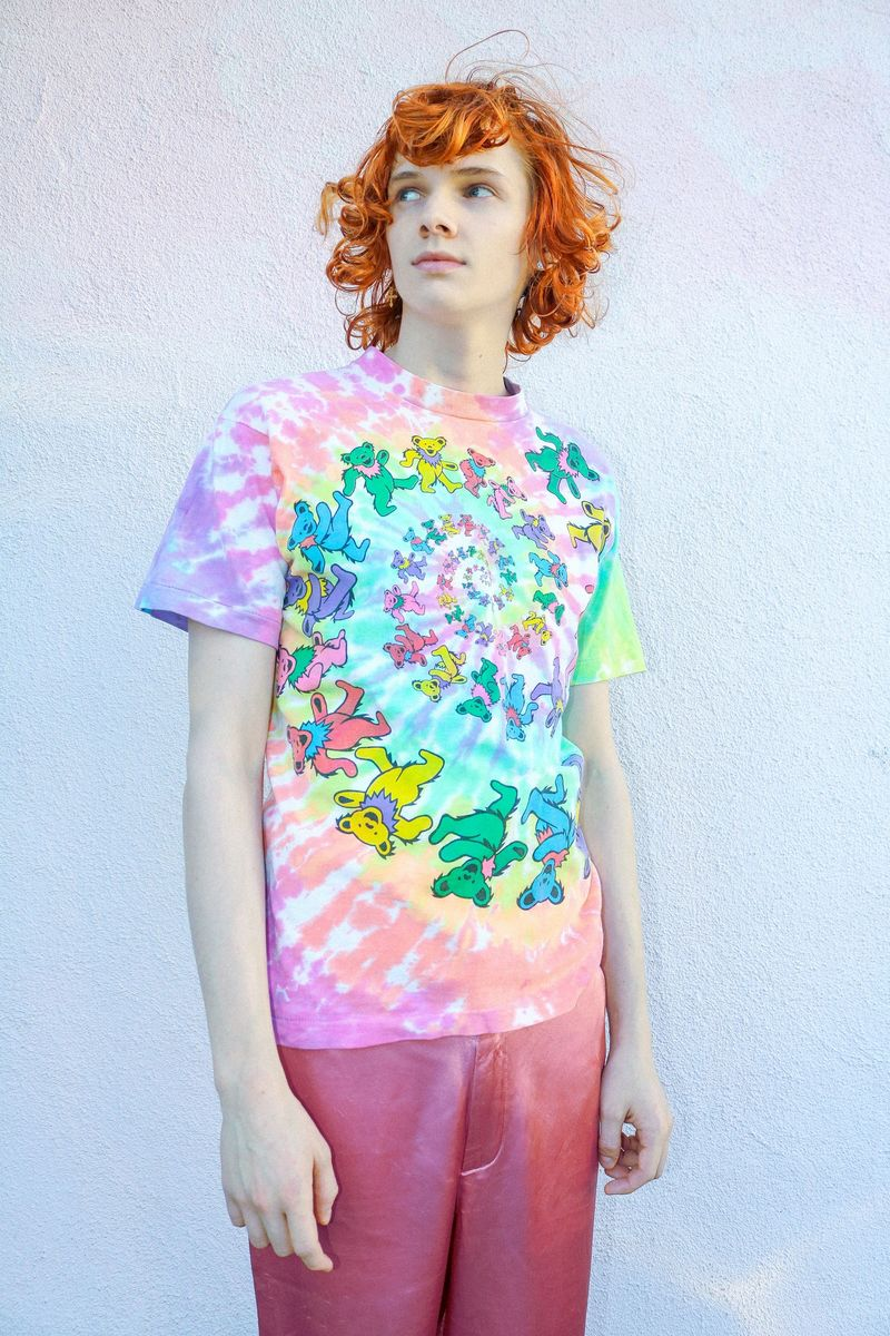 Psychedelic Tie-Dye Band Shirts