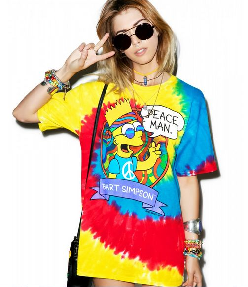 Psychedelic Cartoon Tees