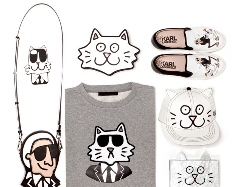 Cat Cartoon Couture